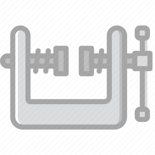 building, construction, tool, vise, work icon