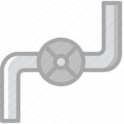building, construction, gas, pipe, tool, work icon