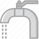 building, construction, sink, tap, tool, work icon