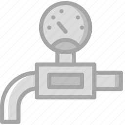 building, construction, pressure, tool, valve, work icon