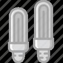 building, bulbs, construction, tool, work icon
