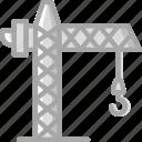 building, construction, crane, tool, work