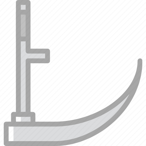 building, construction, scythe, tool, work icon