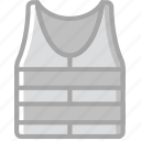building, construction, tool, vest, work icon