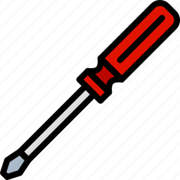 building, construction, screwdriver, tool, work icon