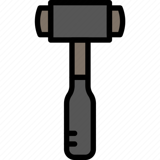 building, construction, hammer, tool, work icon