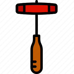 building, construction, hammer, rubber, tool, work icon