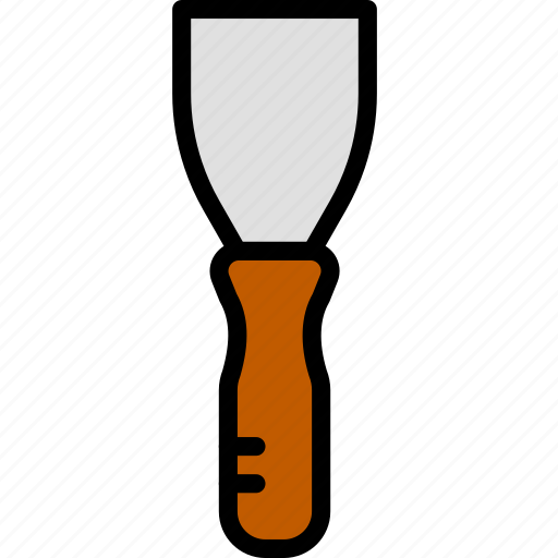building, construction, masonry, tool, trowel, work icon