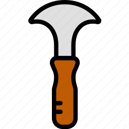 building, construction, margin, tool, trowel, work icon