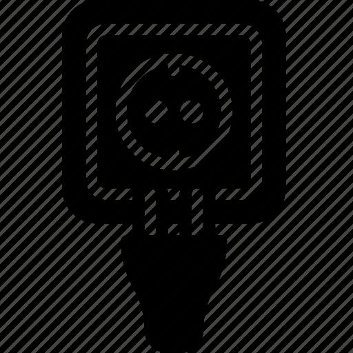 building, construction, plug, socket, tool, work icon