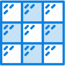 building, construction, glass, tool, wall, work icon