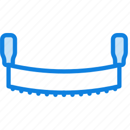 building, construction, cutting, saw, tool, work icon