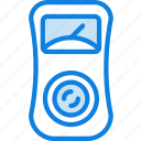 building, construction, electricity, measure, tool, work icon
