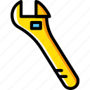 building, tool, construction, work, wrench