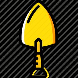 brick, building, construction, tool, trowel, work icon
