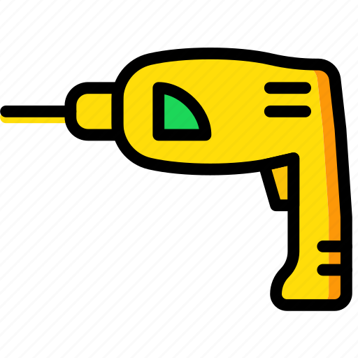Building, construction, drill, tool, work icon - Download on Iconfinder