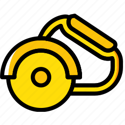 building, circular, construction, saw, tool, work icon