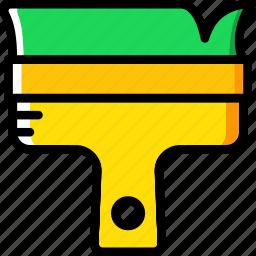 brush, retro icon