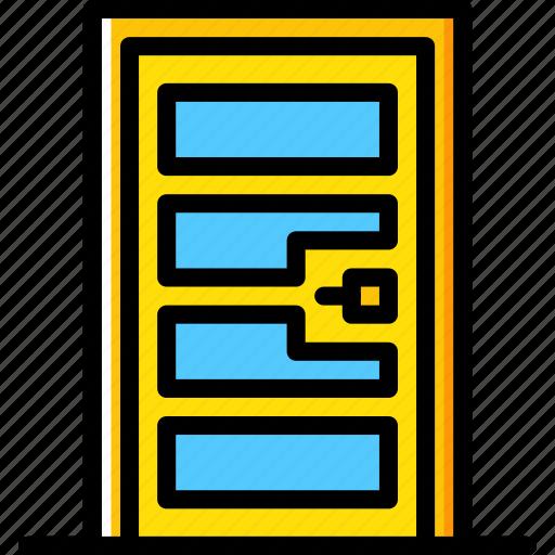 building, construction, door, tool, work icon