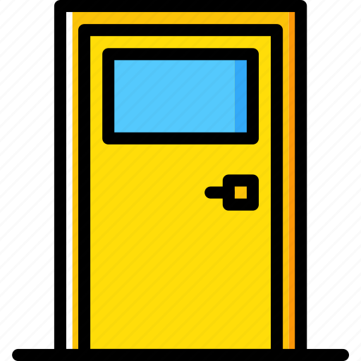 Building, construction, door, tool, work icon - Download on Iconfinder