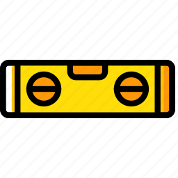 building, construction, level, tool, work icon