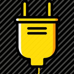 building, construction, plug, tool, work icon