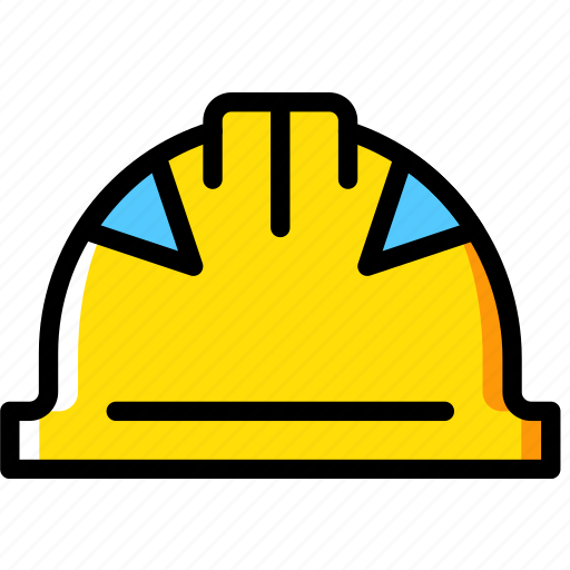 building, construction, hat, tool, work icon