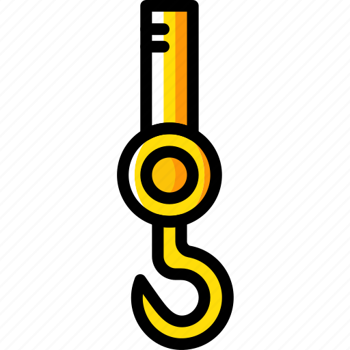 building, construction, hook, tool, work icon