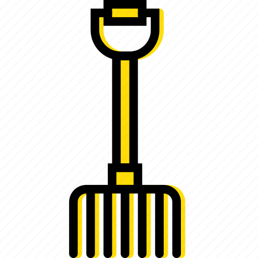 building, construction, fork, tool, work icon