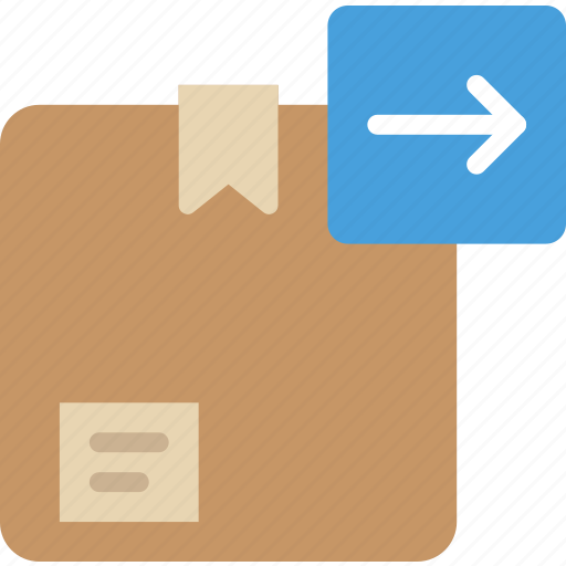 box, delivery, download, give, shipping, transport icon