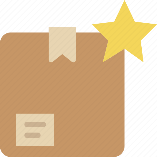 box, delivery, favorite, give, shipping, transport icon