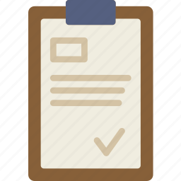 clipboard, give, note, shipping, transport, write icon