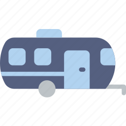 shipping, trailer, transport icon