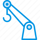 crane, give, lift, shipping, transport icon