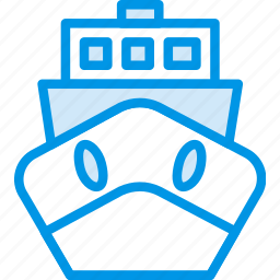 boat, delivery, give, shipping, transport icon
