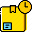 box, delivery, give, shipping, transport, wait icon