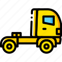 delivery, give, shipping, transport, truck icon