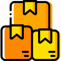 boxes, give, shipping, transport icon