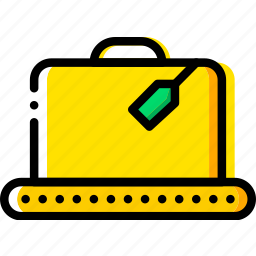 belt, box, conveior, give, shipping, transport icon