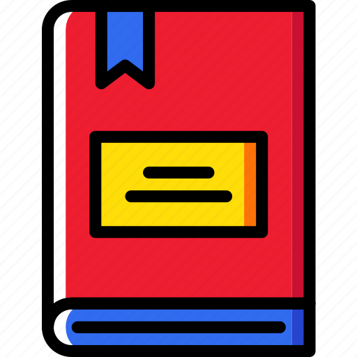 bookmark, education, knowledge, learning, study icon