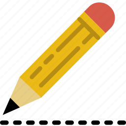 drawing, education, knowledge, learning, pencil, study icon