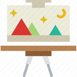 art, class, education, knowledge, learning, study icon