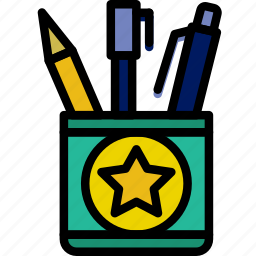 education, knowledge, learning, study, tool, writing icon
