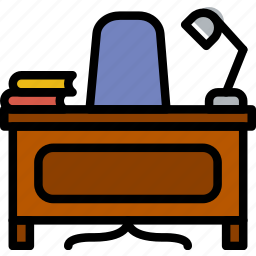 education, knowledge, learning, office, principal, study icon