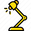 education, knowledge, lamp, learning, reading, study icon