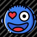 emoticon, flirt, emoji, face