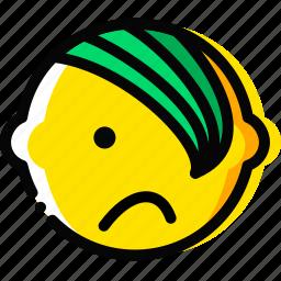 emo, emoji, emoticon, face icon