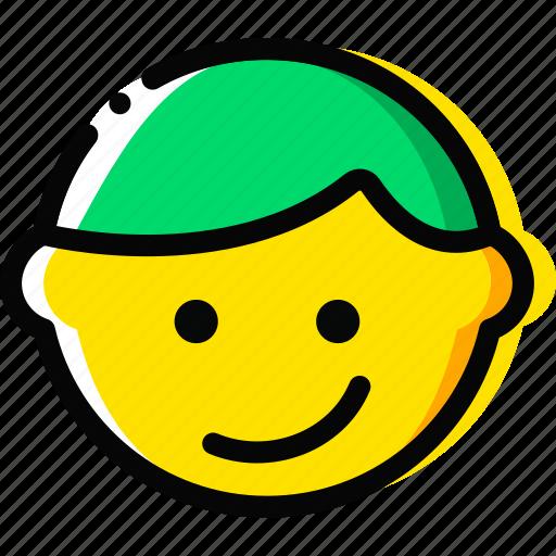 emoji, emoticon, face, joyful icon