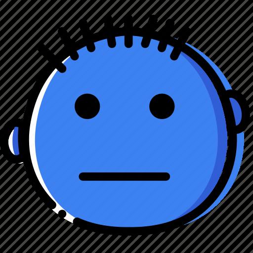 Emoticon, emoji, confused, face icon - Download