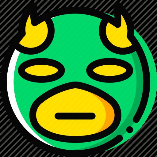 daredevil, emoji, emoticon, face icon